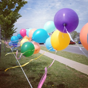 Balloons at Affinity Festival