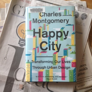 Cover of Happy City by Charles Montgomery