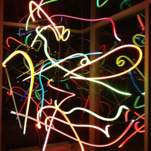 Neon Art in Station Gallery