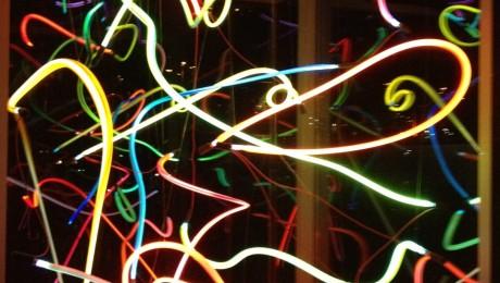 Neon Art in Station Gallery